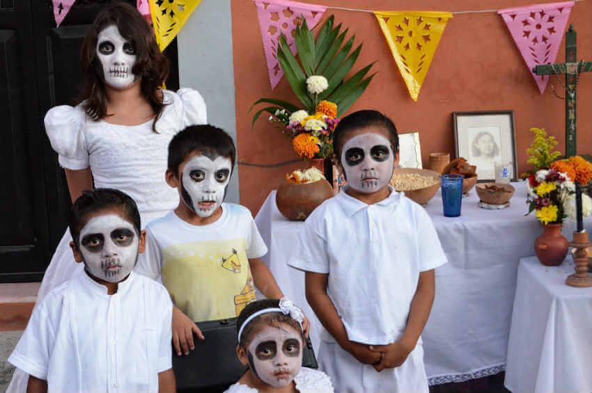 Merida Fète des Morts Mexique Blog Yucatan Solidaire 850x565